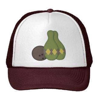 Retro Bowling Set Trucker Hat
