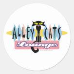 Retro Bowling Sign Sticker