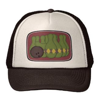 Retro Bowling Trucker Hat