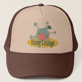 Retro Boxer Lounge Trucker Hat