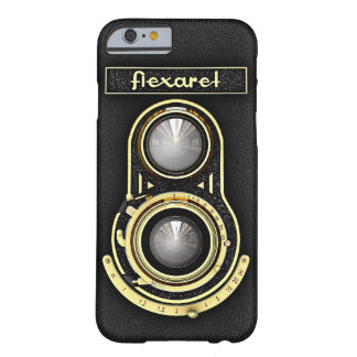 Retro Brass TLR Camera Barely There iPhone 6 Case