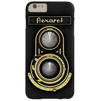 Retro Brass TLR Camera Barely There iPhone 6 Plus Case