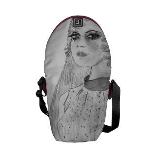 Retro Bride Courier Bag