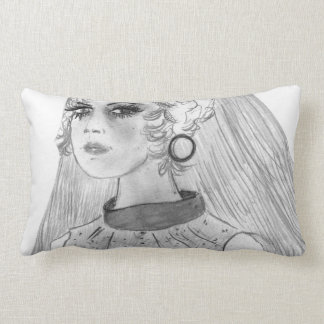 Retro Bride Lumbar Pillow