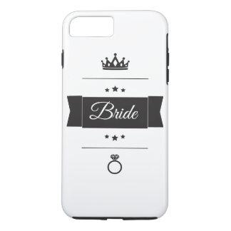 Retro Bride typography design iPhone 8 Plus/7 Plus Case
