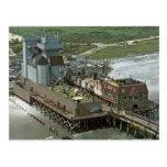Retro Brigantine Castle Postcard 2