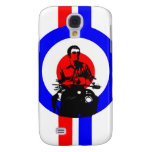 Retro British Mod Scooter Boy Galaxy S4 Covers