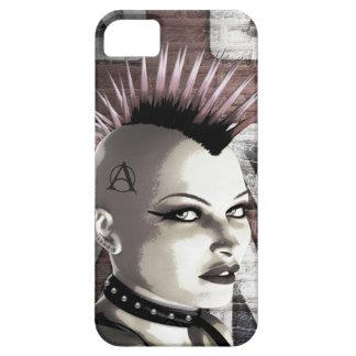 Retro British Punk Fashion iPhone 5 Case