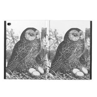 Retro brooding owl drawing powis iPad air 2 case