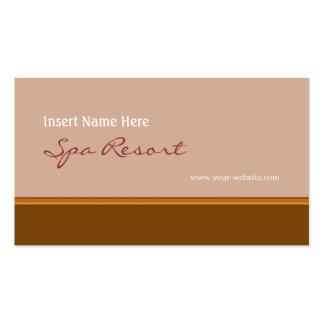 Retro Brown Business Card
