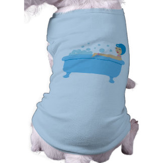 Retro Bubble Bath Girl Shirt