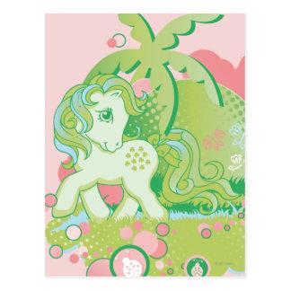 Retro Bubbles Design Postcard