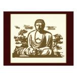Retro Buddha Custom Invite