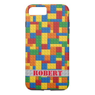 retro building block customizable iPhone 7 case