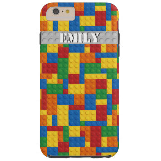 retro building blocks customizable iphone 6 case
