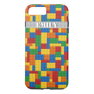 retro building blocks customizable iPhone 7 case