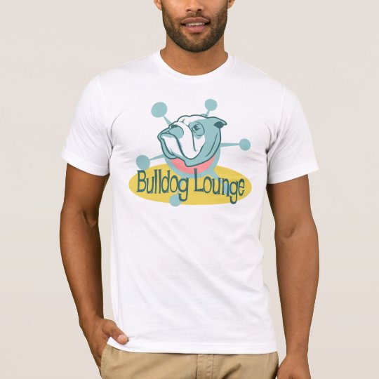 Retro Bulldog Lounge T-Shirt