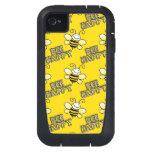 Retro Bumble Bees iPhone4 Case
