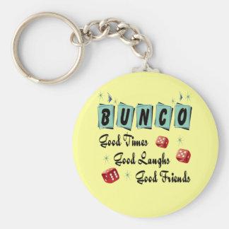 Retro Bunco Keychain