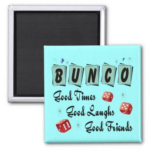Retro Bunco Magnets