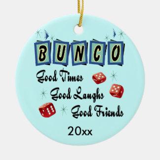 Retro Bunco Ornament - Prize or gift