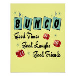 Retro Bunco Sign - Good Time, Laughs and Friends