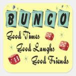 Retro Bunco Stickers