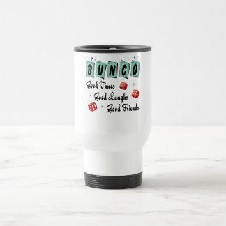 Retro Bunco Travel Mug