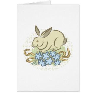 Retro Bunny Greeting Cards