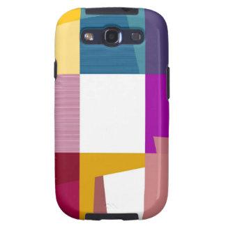 Retro bunte Pop-Kunst Samsung Galaxy S3 Covers
