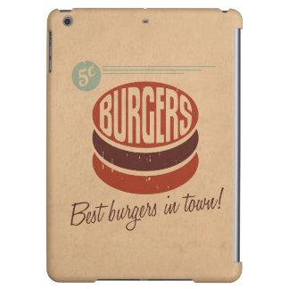 Retro Burger Cover For iPad Air