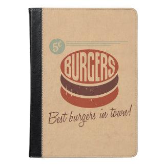 Retro Burger iPad Air Case
