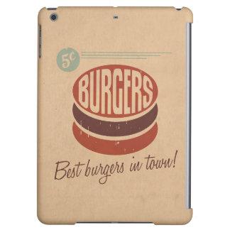 Retro Burger iPad Air Cases