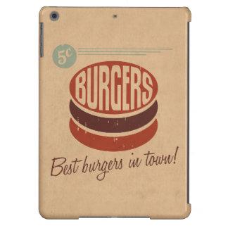 Retro Burger iPad Air Cover