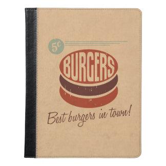 Retro Burger iPad Case