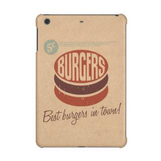 Retro Burger iPad Mini Cases