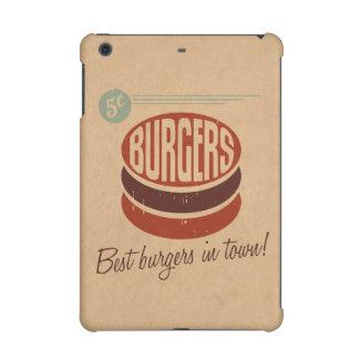 Retro Burger iPad Mini Retina Covers