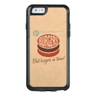 Retro Burger OtterBox iPhone 6/6s Case