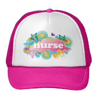 Retro Burst NURSE Gift Trucker Hat