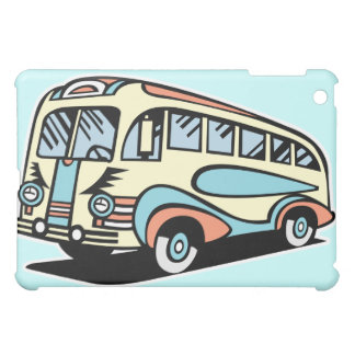 retro bus motor coach cover for the iPad mini