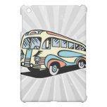 retro bus motor coach iPad mini cases