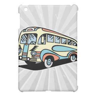 retro bus motor coach iPad mini cover