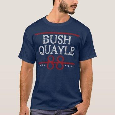 republicanparty Retro Bush Quayle 88 Election T-Shirt