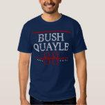 Retro Bush Quayle 88 Election Tshirts
