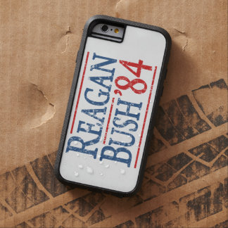 Retro Bush Reagan 84 Election Tough Xtreme iPhone 6 Case