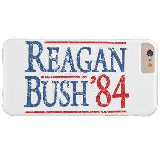Retro Bush Reagan 84 Election Barely There iPhone 6 Plus Case