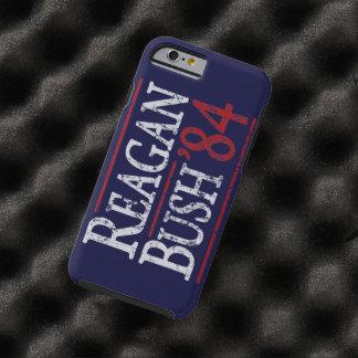 Retro Bush Reagan 84 Election Tough iPhone 6 Case