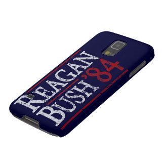 Retro Bush Reagan 84 Election Galaxy S5 Cover