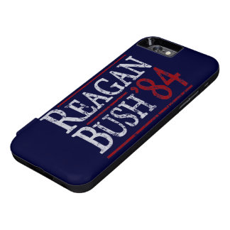 Retro Bush Reagan 84 Election iPhone 6 Case