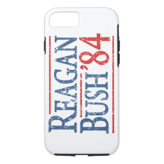 Retro Bush Reagan 84 Election iPhone 8/7 Case